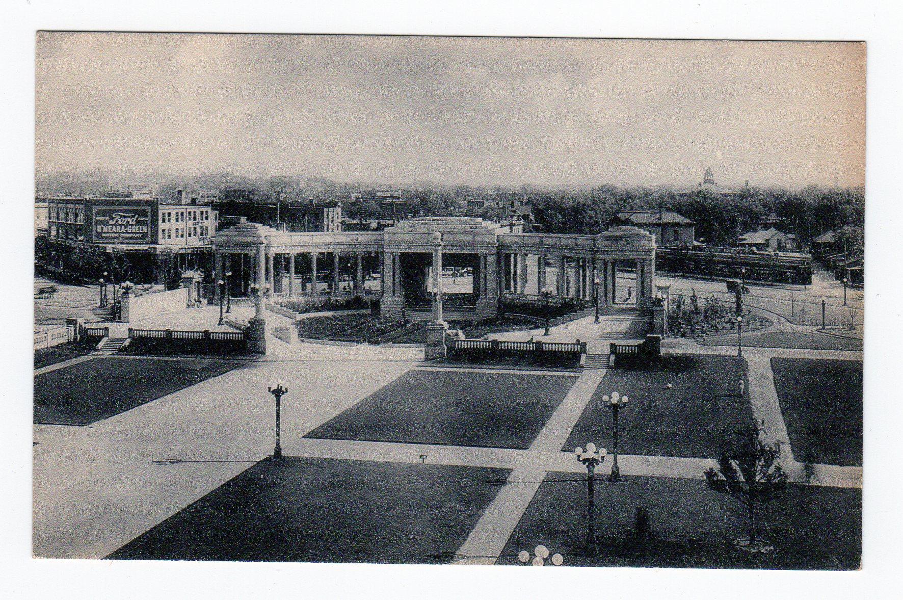 Postcard Greek Theatre Civic Center Denver Colorado