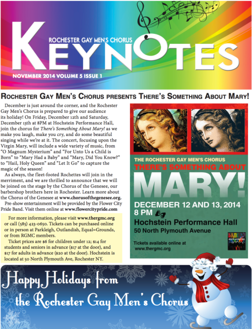 Keynotes Newsletter