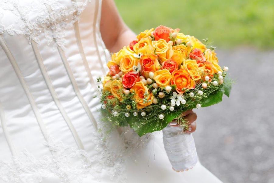 Leuchtend gelbes  -  Der schönste Tag mit Jackis Blumen