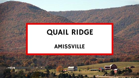 quail ridge amissville va