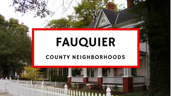 fauquier county neighborhoods
