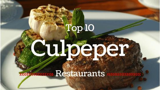 Best Restaurants In Culpeper Va