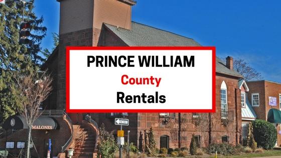 prince william county va rentals
