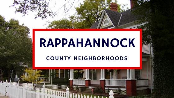 rappahannock county neighborhoods