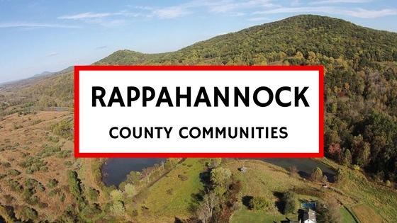 rappahannock county va communities