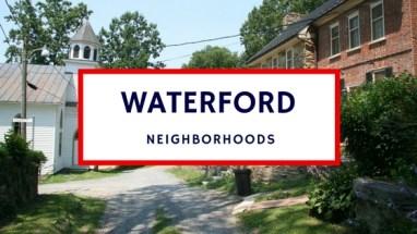 waterford va neighborhoods