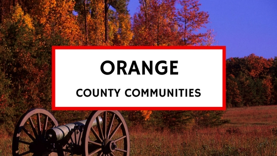 orange county virginia communities