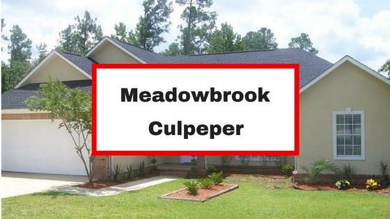 meadowbrook culpeper va