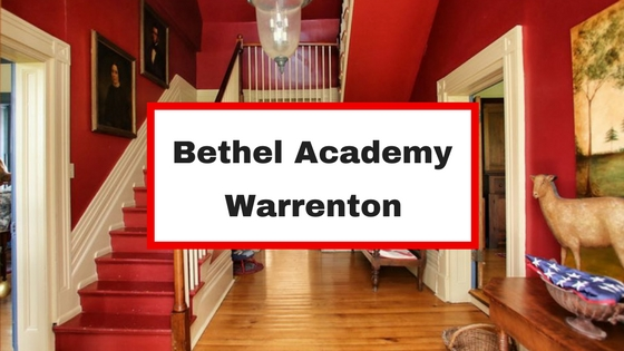 bethel academy warrenton va