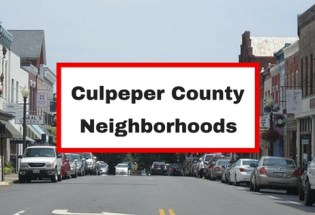 culpeper neighborhoods