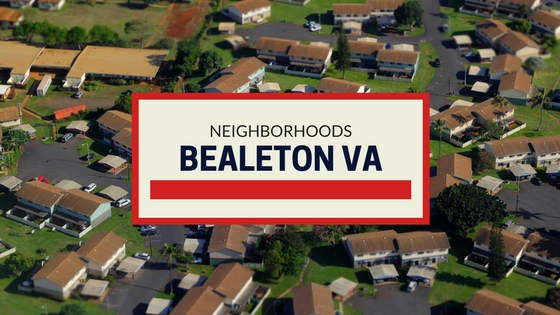 BEALETON VA NEIGHBORHOODS