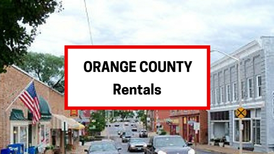 orange county va rentals