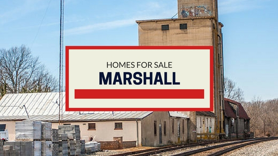 homes for sale marshall va