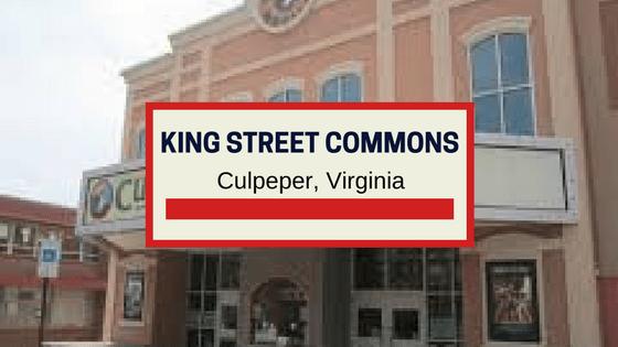 king street commons culpeper va