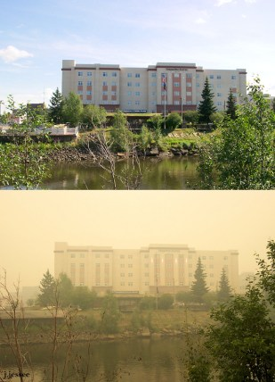 Springhill Suites on the Chena River