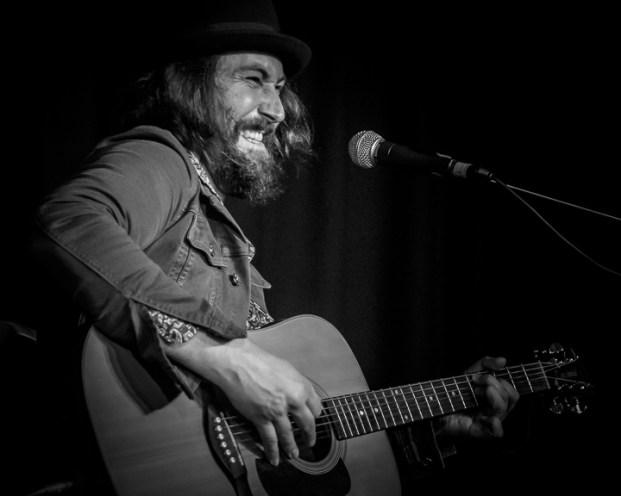 Live at Durham Blues Festival. Photo: John Ashton