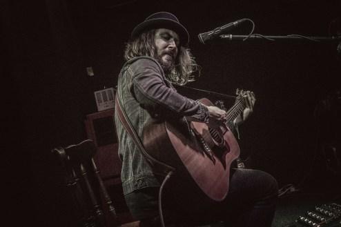 Blues guitarist Jack J Hutchinson