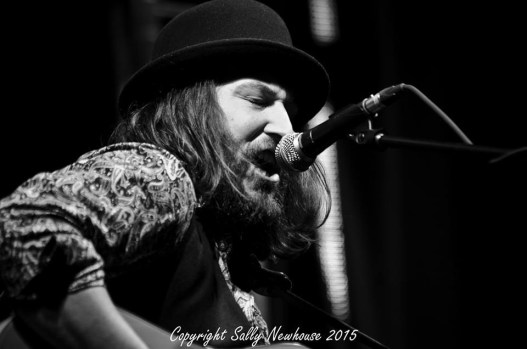 Live at Skegness Blues Festival. Photo: Sally Newhouse