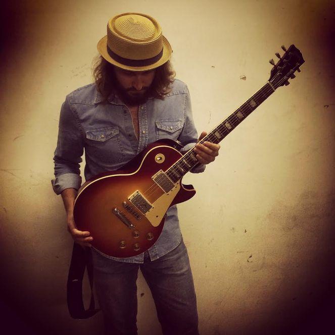 British blues guitarist Jack J Hutchinson