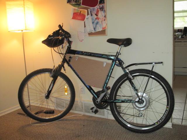 E-Bike mod: Moving the battery into the frame triangle. (1/6)