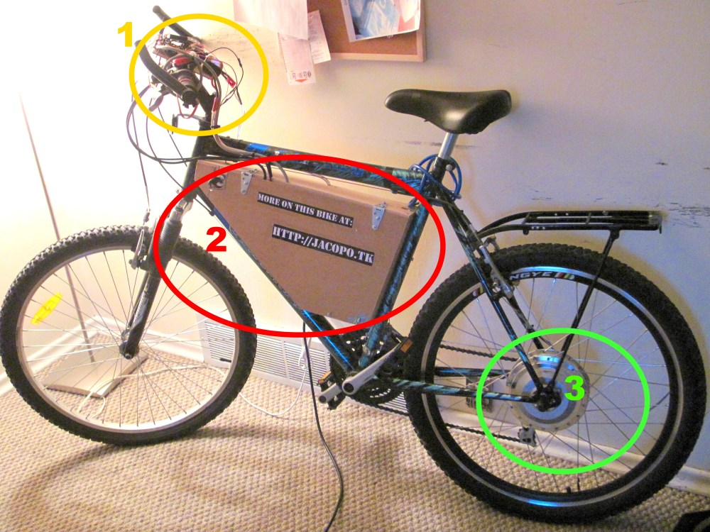 My electric bicycle (1/6)