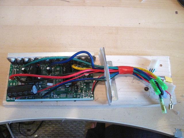 Controller Mod: KU123 100V ! (5/6)
