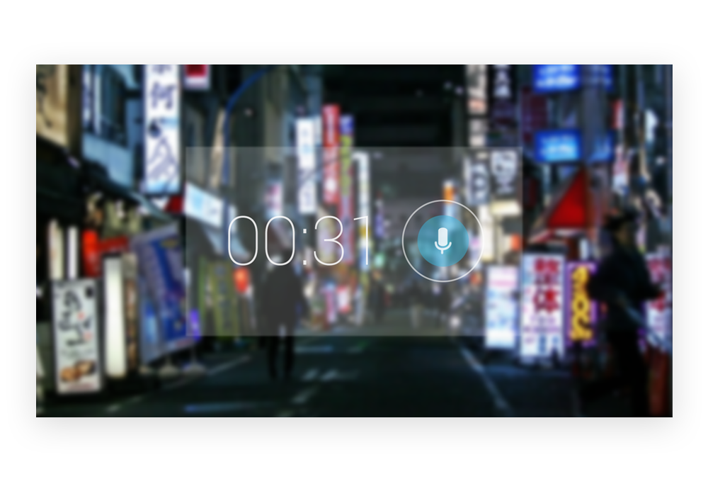 Google Glass - Voice Memo