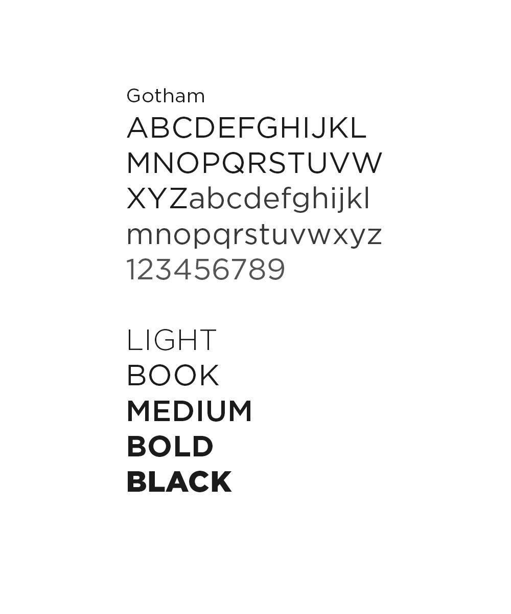 Gotham Typography
