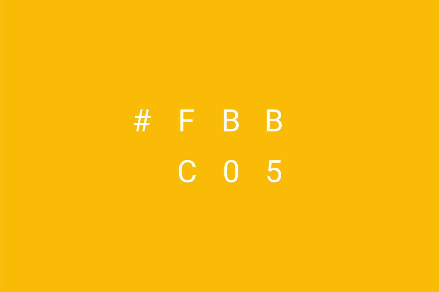 Google Brand Colors - Yellow