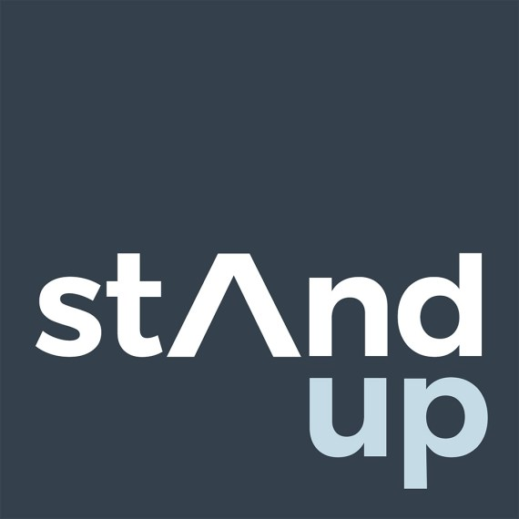 Boxed Stand Up Logo