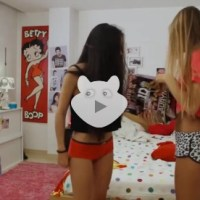 Hot Teens Bedroom Dance