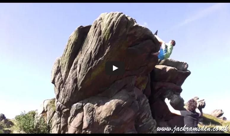 Bouldering at Newstones