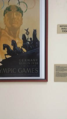 The poster from the infamous Berlin 1936 Olympic games