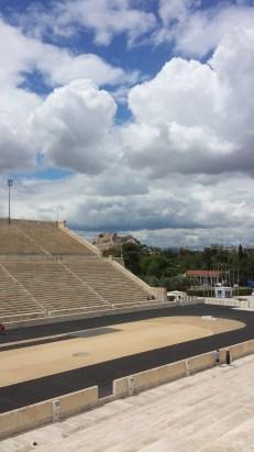 The Acropolis, as seen from the Panathenaic Stadium
