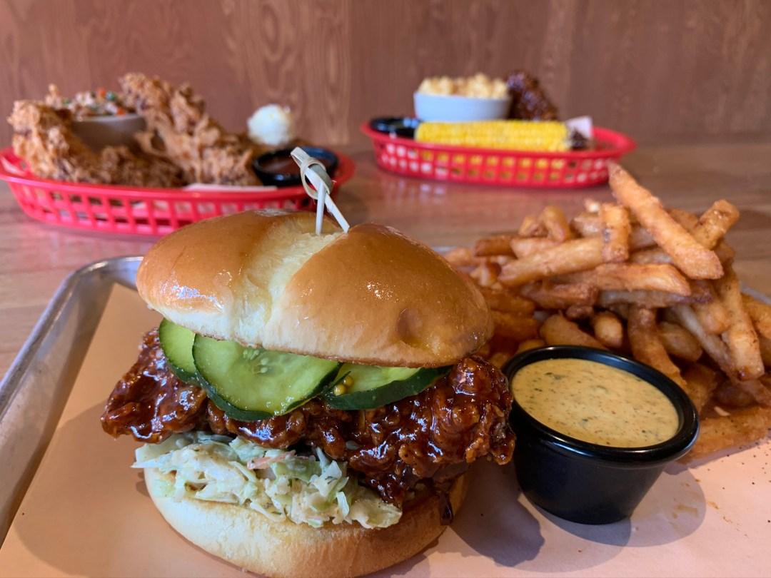 Jack's Chicken Shack Sandwich