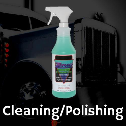 Chrome Cleaning and Polishing Products