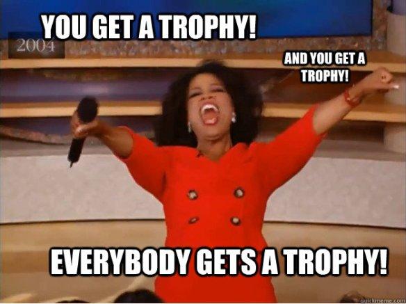 trophy oprah