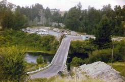 Arapuni pipeline site.