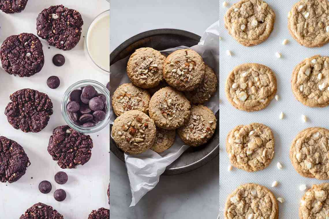 My dairy free cookies collage