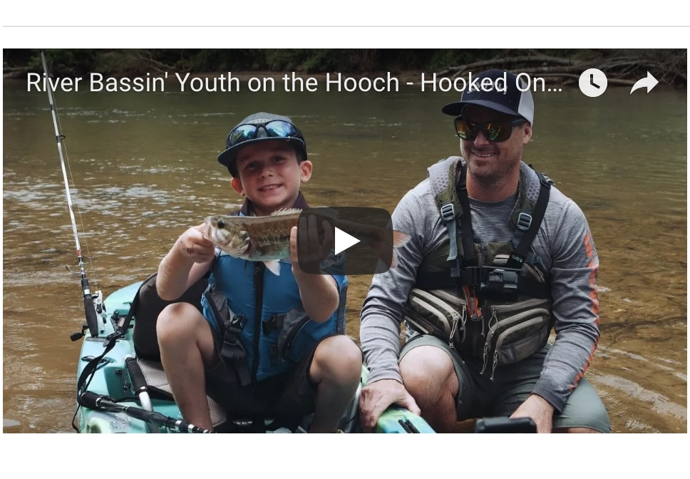 """NEW VIDEO: Hooked on Wild Waters S4, E5, """"River Bassin' Youth on the Hooch"""""""
