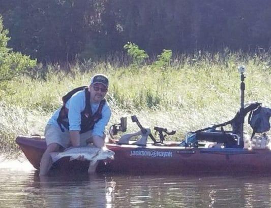 Fishing the Salt in Lower Alabama