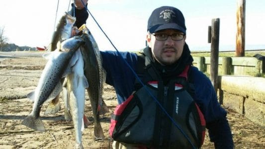 Wintertime Speckled Trout