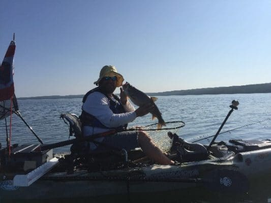We going straight to the Wild Wild West,The Western Canadian Kayak Fishing Trail.