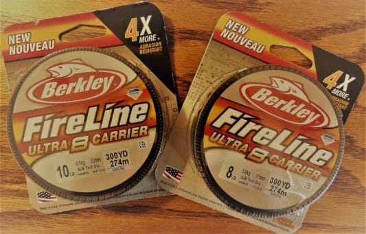 Berkley FireLine Ultra 8: Impressive!