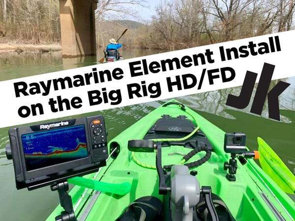 Raymarine Element Installation for Big Rig HDFD