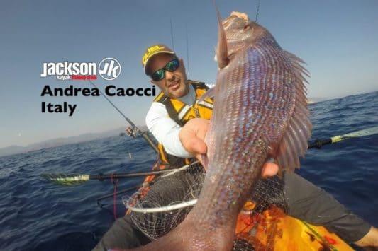 JK FISHING TEAM EUROPE: ANDREA CAOCCI, ITALY
