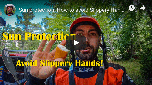 Sun protection: How to avoid slippery hands