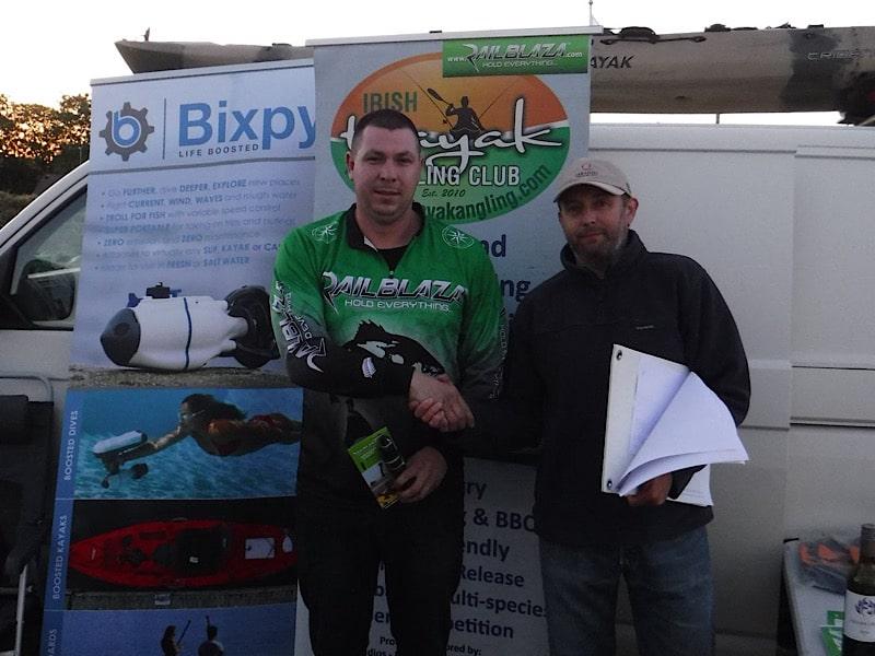 Irish Kayak Angling Cahore Competition