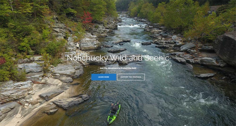 Take Action for Nolichucky Wild & Scenic