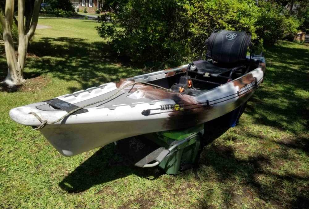 How-to do an Anchor Trolley Install on a Kayak